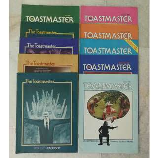 Toastmaster Magazine Book