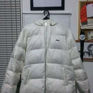 FILA White Down jacket
