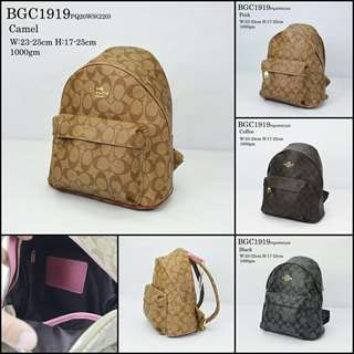 Coach Backpack (FREE POSTAGE)