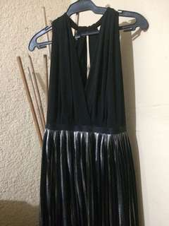 Backless Black Formal Dress