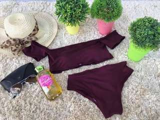 Taylor Off Shoulder Swimsuit