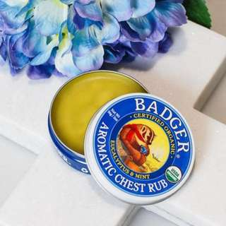 Badger Organic Chest Rub