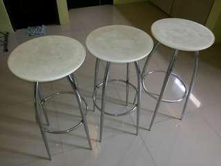 Bar Stool Backless Chair P1,000 each