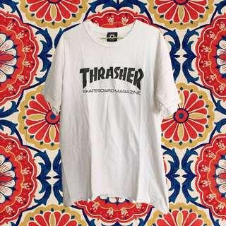 Thrasher Logo TEE 白色