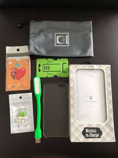 BNIB Wireless Portable Power Bank Charger 10000 mAh (White)