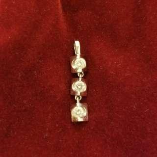 超新真鑽石吊咀约5~6份一粒