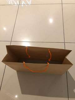 Large sized paper carrier bag