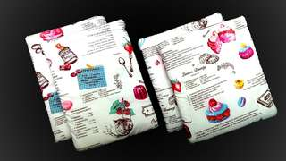 Booksleeve (Bakery Themed)