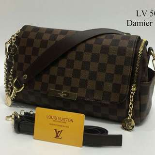 Louis Vuitton Sling Bag Damier