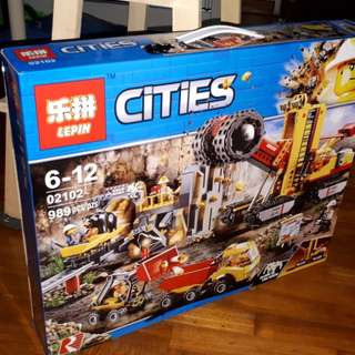 **New** City Mining Expert Site compatible with LEGO 60188