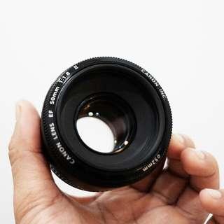canon 50mm f1.8 ii