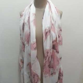 Rhina scarf pink