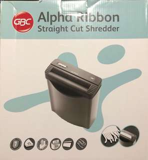 GBC Alpha Ribbon Shredder