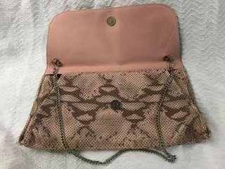 SALE!! Pink snake purse