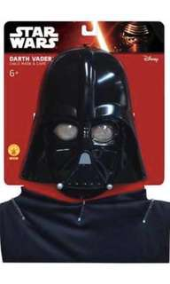 Star Wars Darth Vader Cape And Mask Set