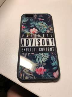 iPhone Case parental advisory cute cool tropical