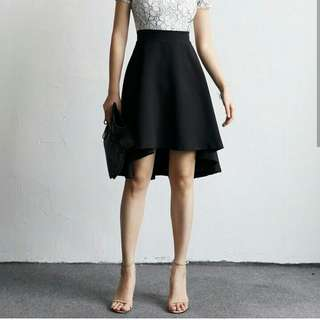 Assymetri skirt