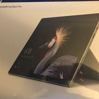 * BRAND NEW* Microsoft Surface Pro Intel Core i5 128GB 4GB Ram + Microsoft Surface Pro Type Cover