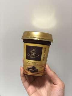 日本限定Godiva黑朱古力凍飲 dark chocolate drink