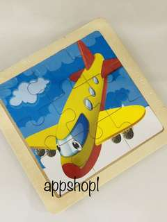 Aero plane puzzle - transportation theme goodies bag, goody bag gift