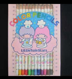 Little Twin Star 1976年絕版colour pencil