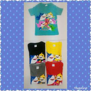 T shirt shark lelong size 2 & 4