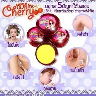 White cherry cream