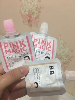 Pink magic kiss&blush
