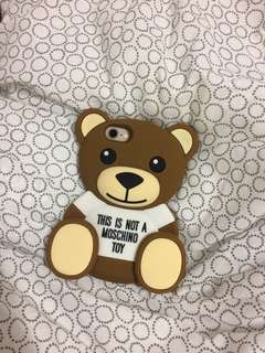 Moschino iphone 7/8 casing, this is not moschino toys bear