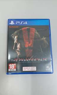 Ps4 Metal gear solid v the phantom pain 二手