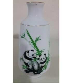 70s Porcelain Vase