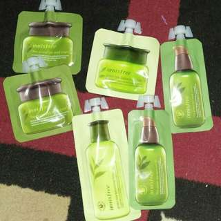 READY! Innisfree Green tea mini size ( Baca Deskripsi)