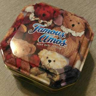 Metal container with Bear Design