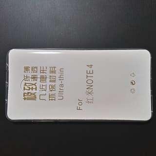 全新 紅米 Note 4 透明手機套