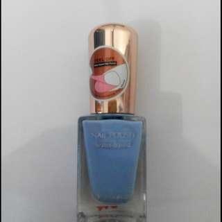 Miniso nail polish qullet blue