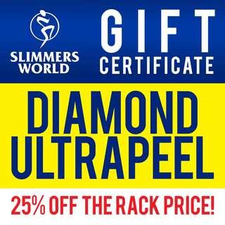 Diamond Ultrapeel 15 Minutes Gift Certificate