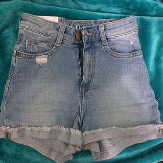 Petite jeans shorts