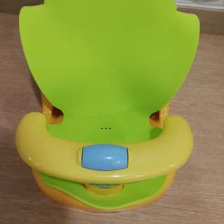 APRICA Baby Bath Chair Yellow