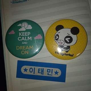 badges /kpop nametag