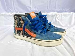 Vans SK8 Hi Inca Blue Orange