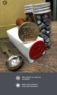 Personalised wax seal