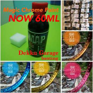 NEW STOCK ! MAGIC CHROME PAINT