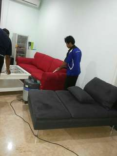 Jasa cuci sofa,springbed dll ( jakarta pusat &;sekitarnya)
