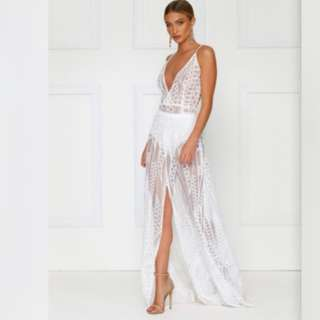 Almour the label sequen gown