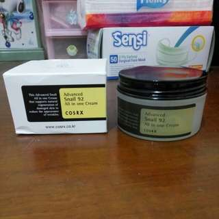 Advanced Snail 92 All in one Cream Share in Jar Asli 10 ml