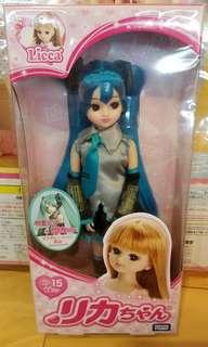Licca 麗佳 初音造型 公仔 doll