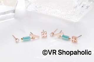 抗敏不鏽鋼針耳環