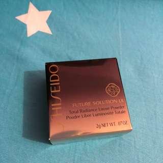 shiseido 資生堂 future solution loose power 碎粉 2g