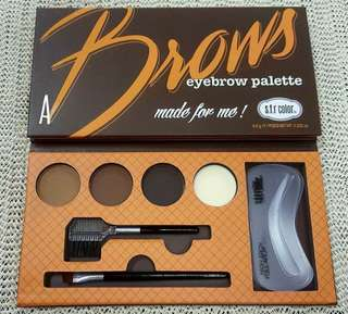 SFR COLOR BROWS EYEBROW PALETTE MADE FOR ME!