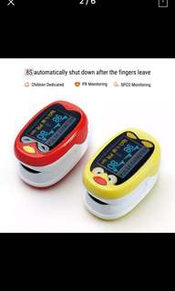 Yongrow Infant Finger Pulse Oximeter 1-12 Years Old Apply Neonatal Infant Kids Baby Pulse Oximeter Pediatric Pulse Oximeter